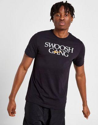performance sportswear free shipping recognized brands Nike Swoosh Gang T-Shirt | JD Sports