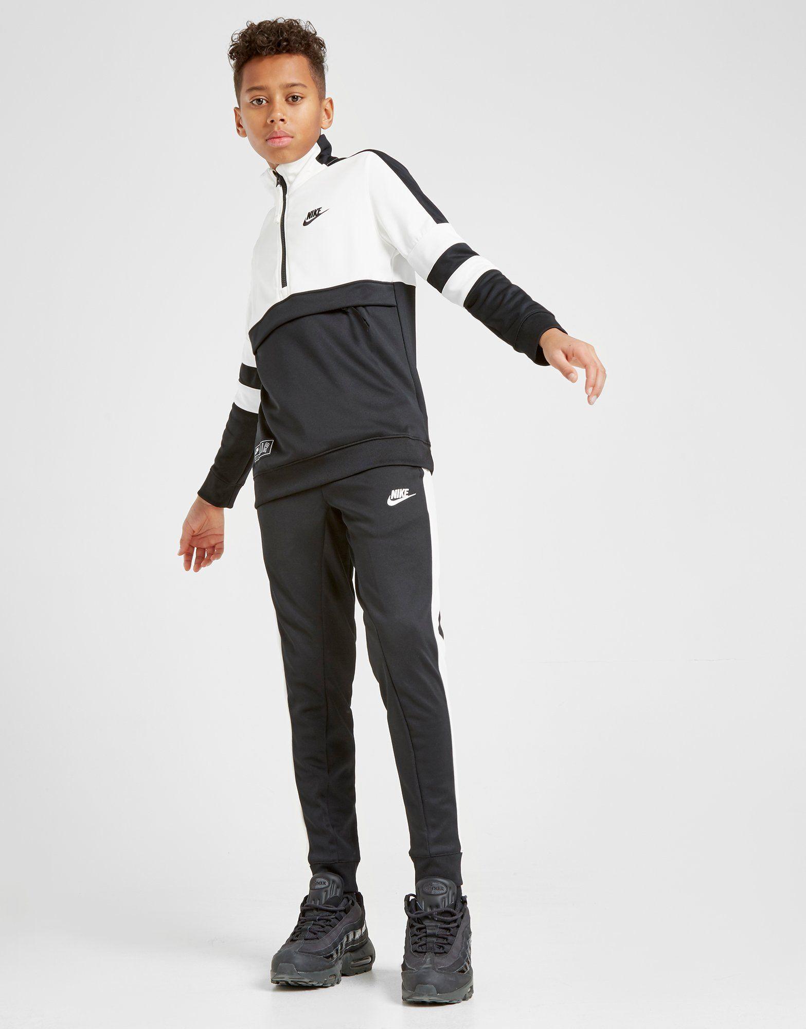 Nike Air 1/4 Zip Tracksuit Junior