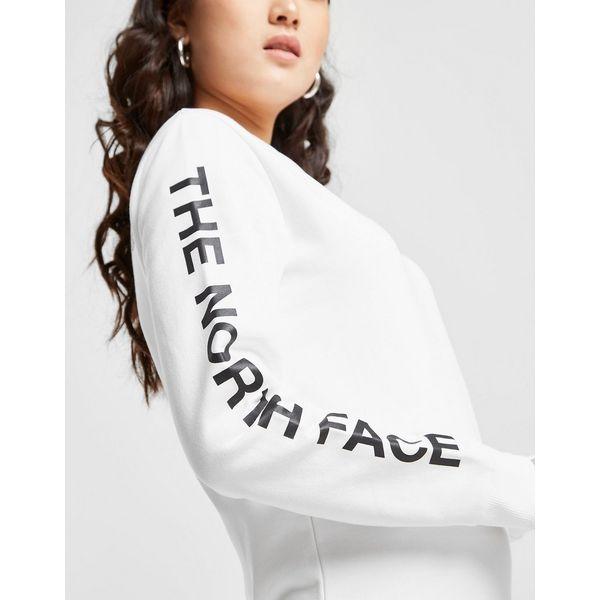 The North Face Logo Sleeve Crew Sweatshirt