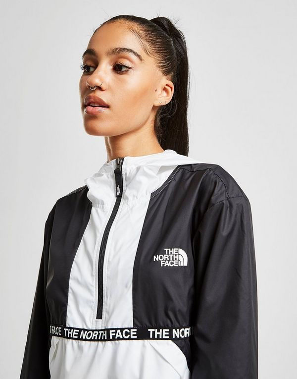 The North Face Veste Coupe Vent Tape 1/4 Zippé Femme