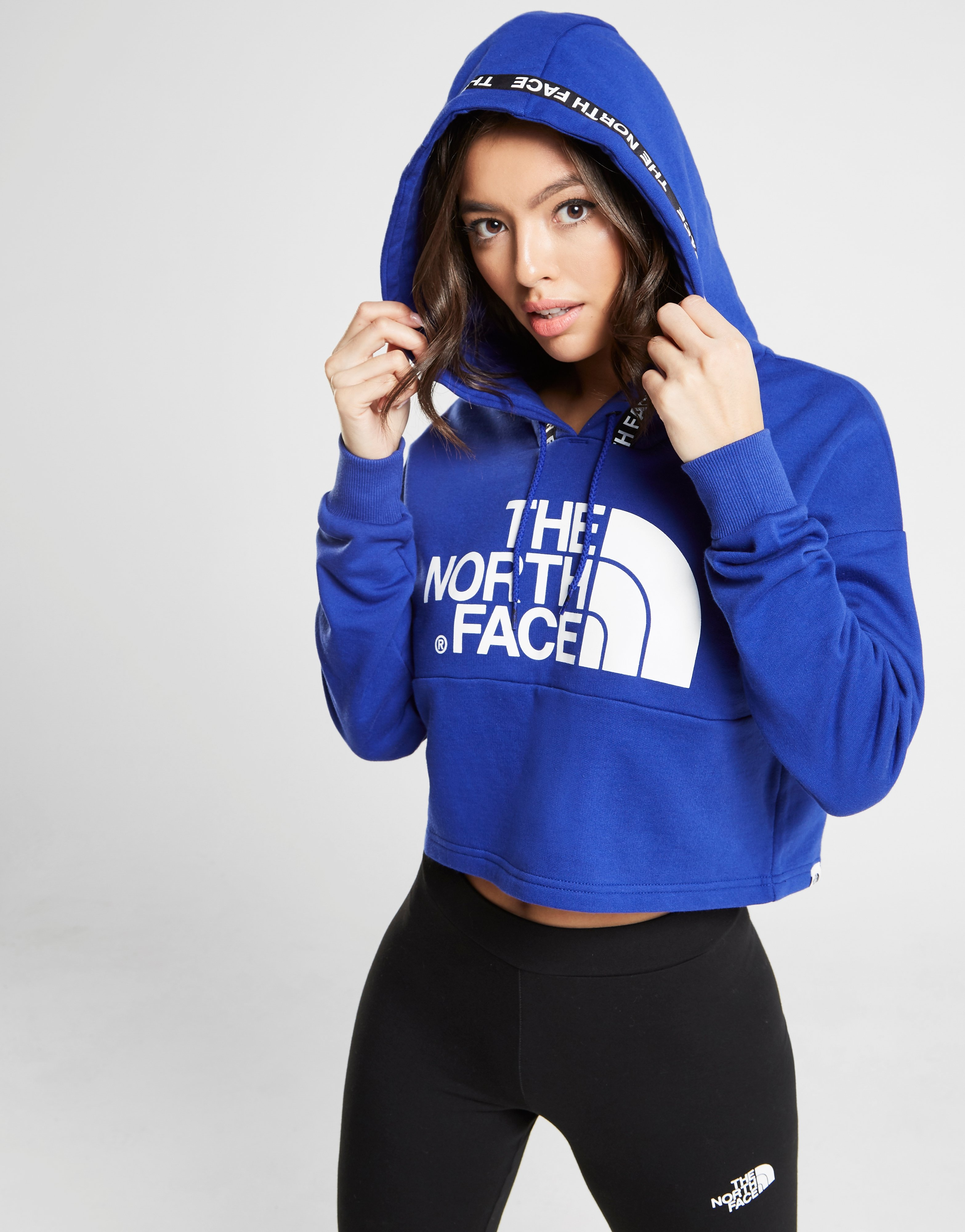 The North Face Tape Crop Hoodie