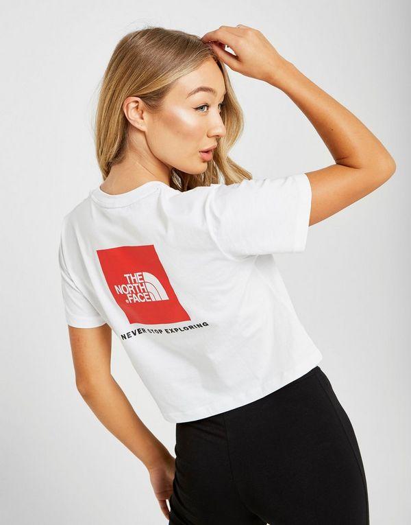 The North Face Crop Box Logo T-Shirt  3d4fbb89c