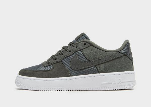 nike air force 1 low grijs