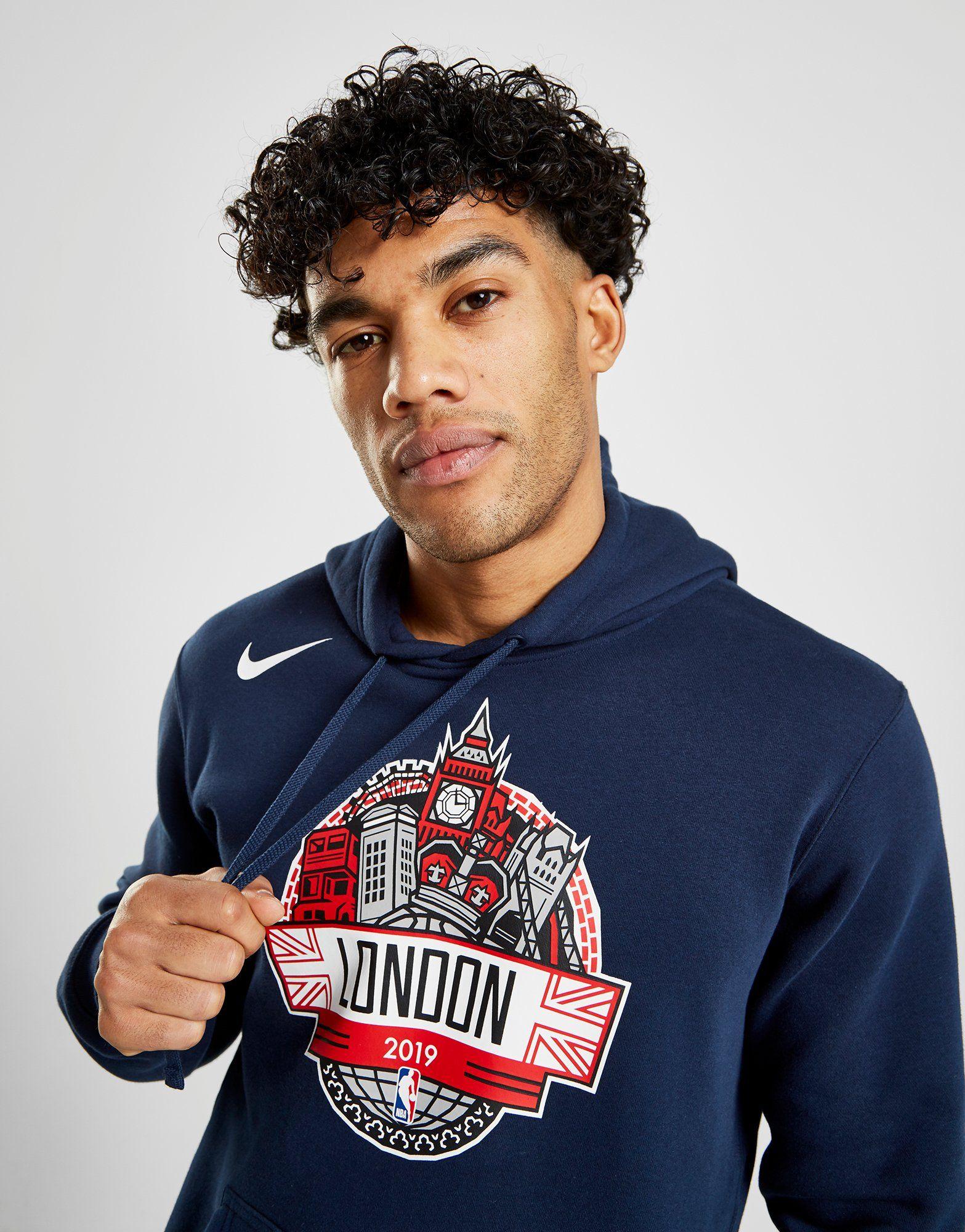 NIKE Nike NBA Global Games Men's Fleece Hoodie