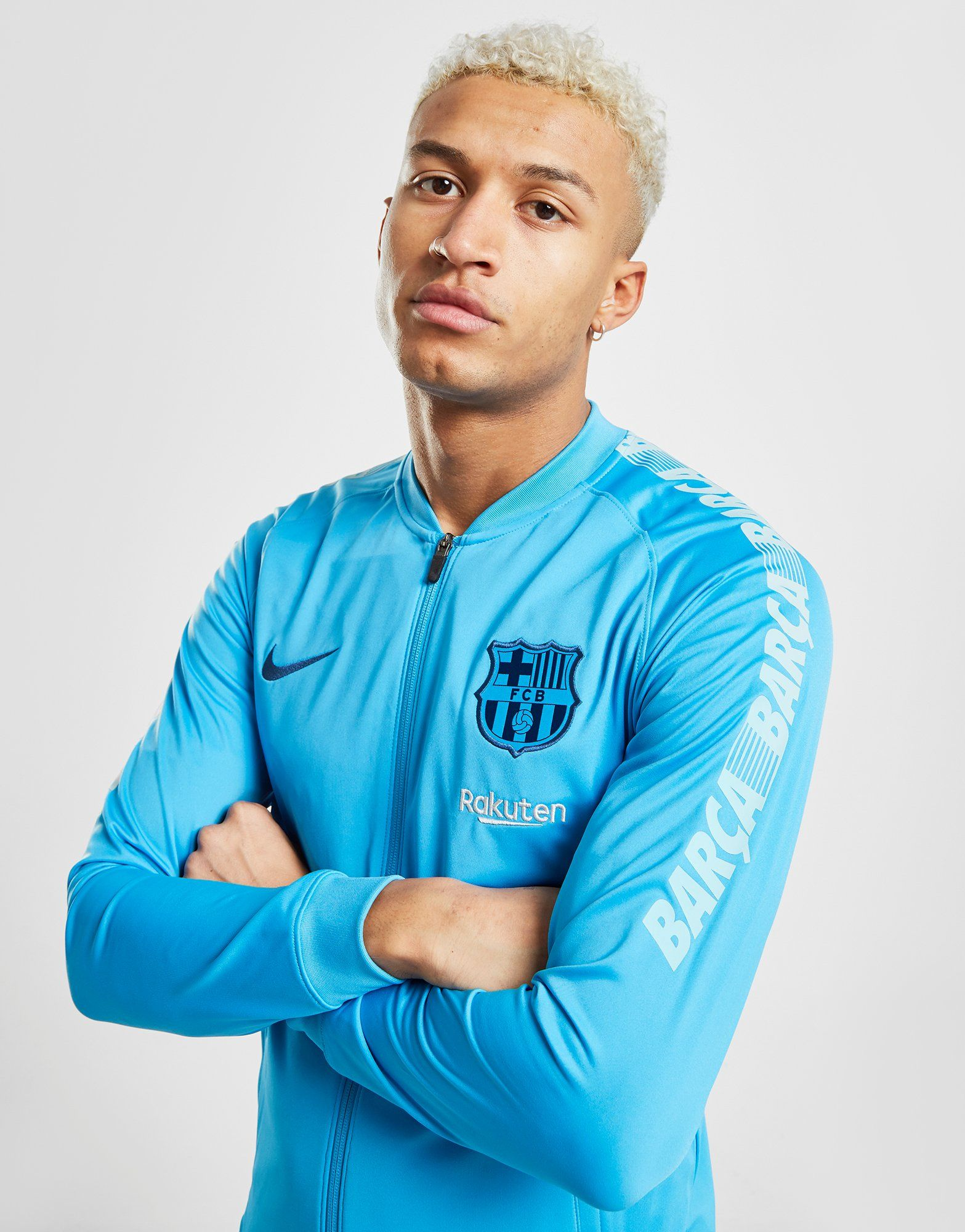 Nike FC Barcelona Squad Tracksuit