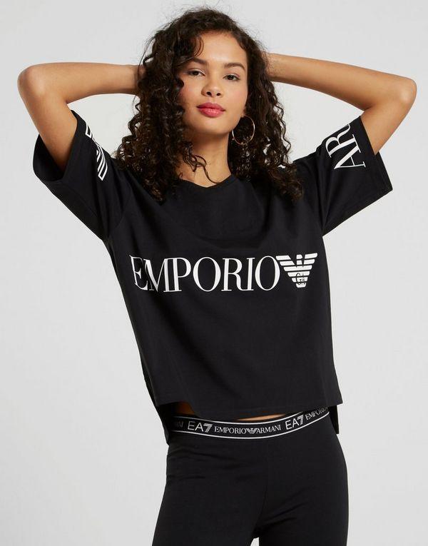982fca36d192c1 Emporio Armani EA7 Cropped T-Shirt