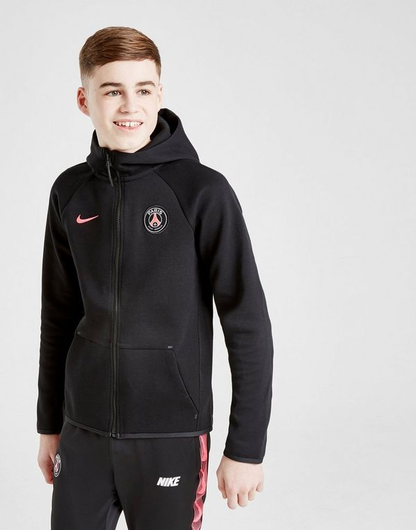 00114a84017 Nike Paris Saint Germain Tech Fleece Hoodie Junior | JD Sports Ireland