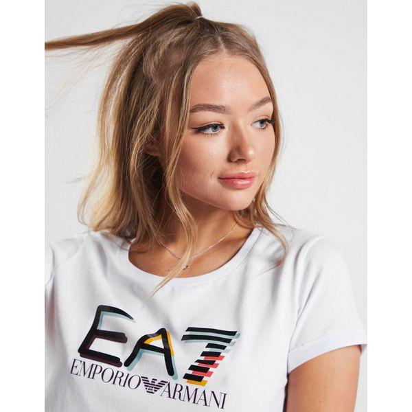 Emporio Armani EA7 Multi Colour Logo T-Shirt