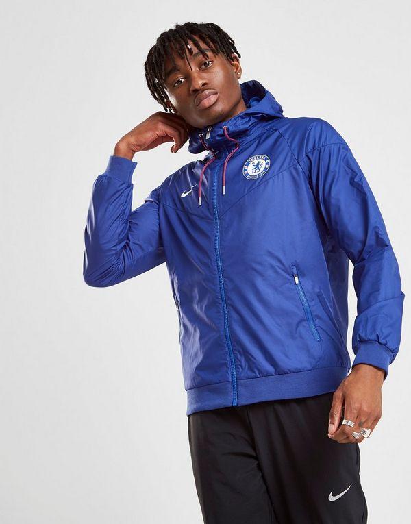 Nike Sportswear Chelsea FC Windrunner Jacket   JD Sports 85ac30971f
