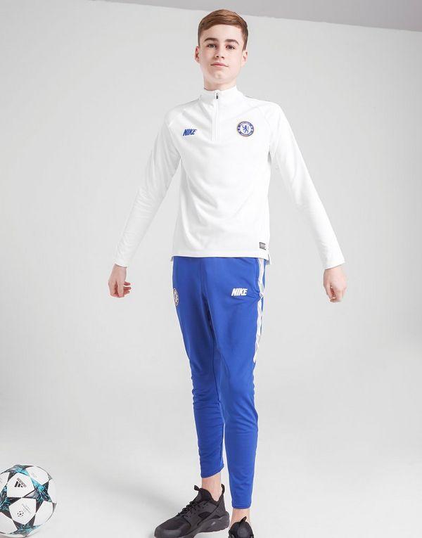 a1f5b8da8429 NIKE Chelsea FC Dri-FIT Squad Drill Older Kids  Long-Sleeve Football ...