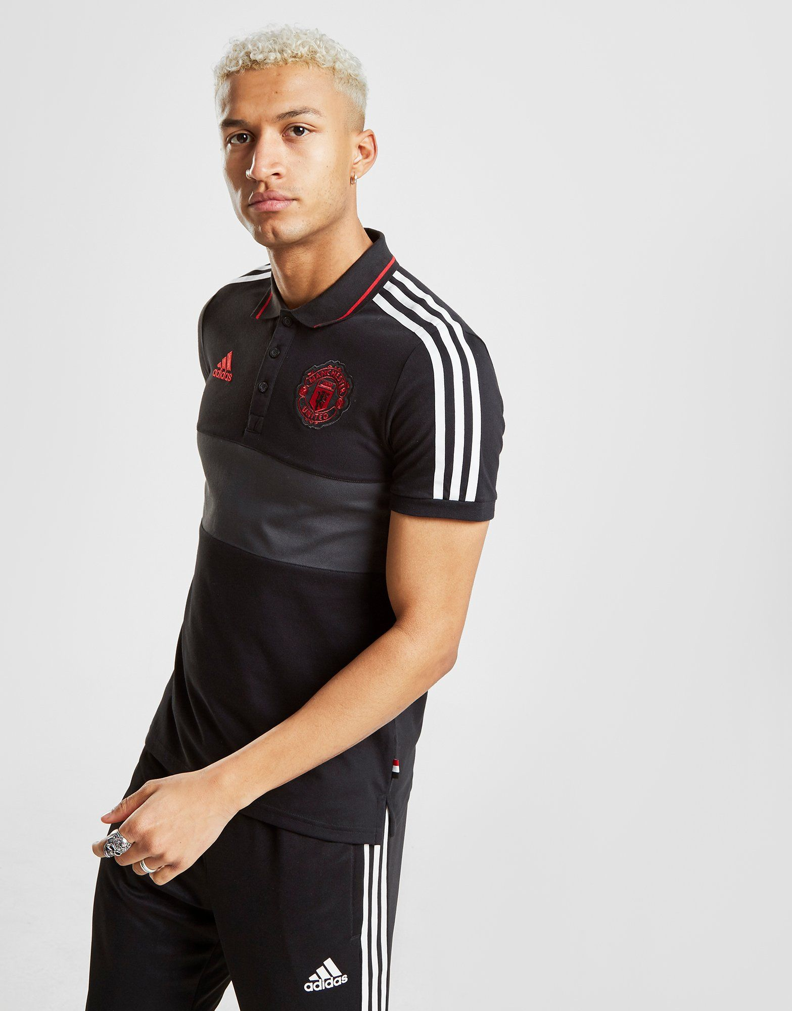 adidas Polo Shirt Manchester United FC Homme