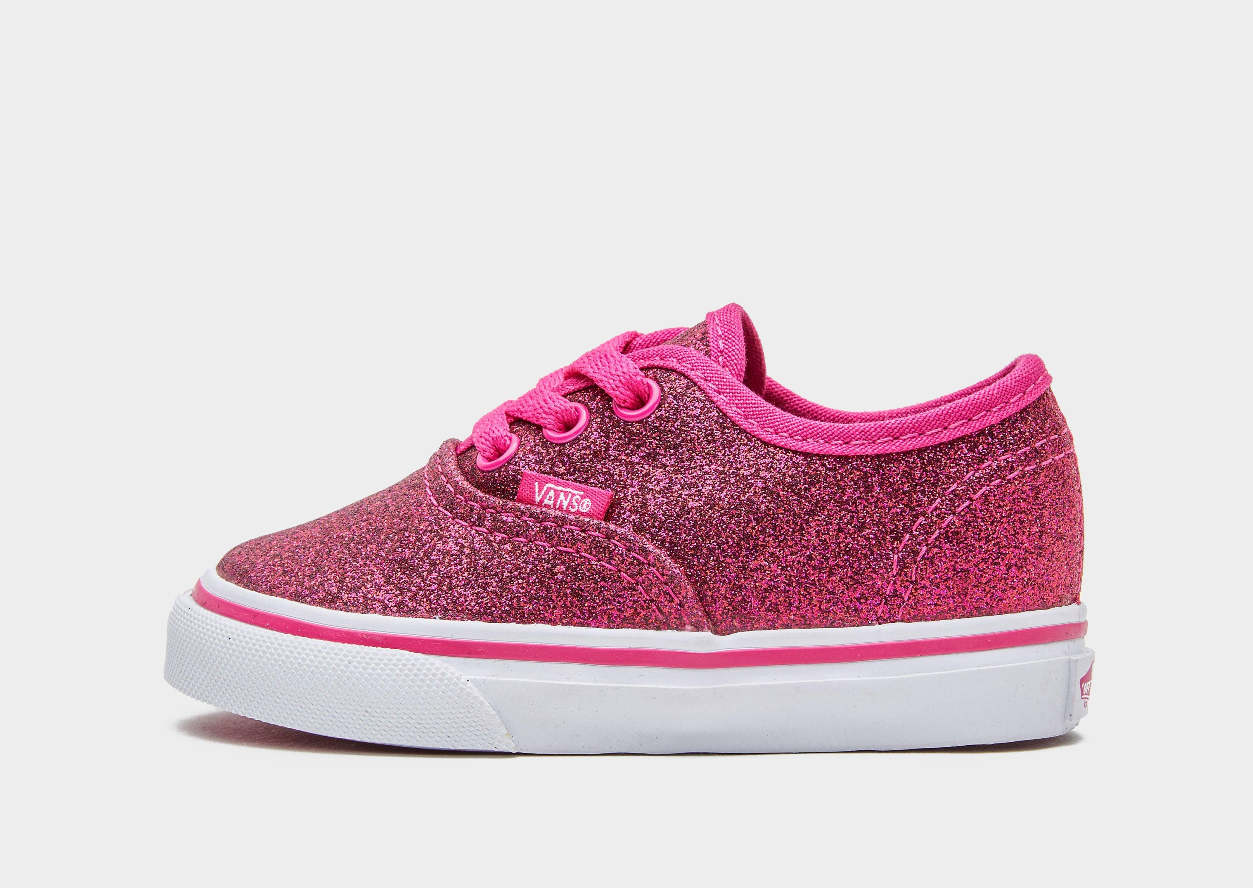 vans authentic glitter