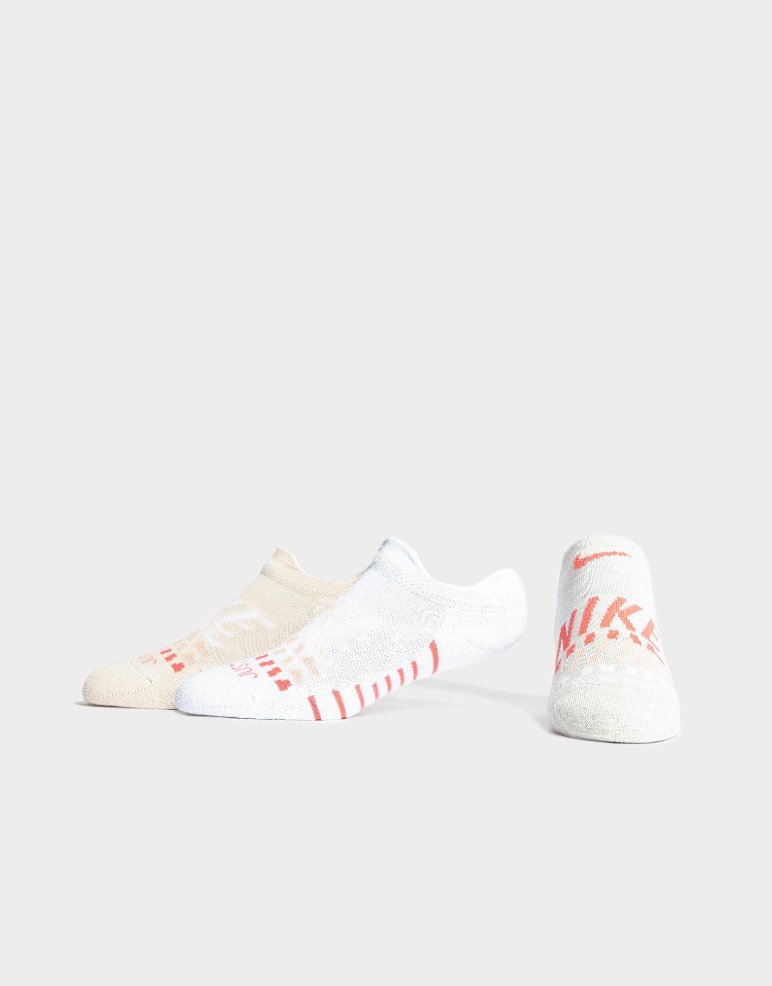 Nike 3 Pack Cushioned Logo Socks