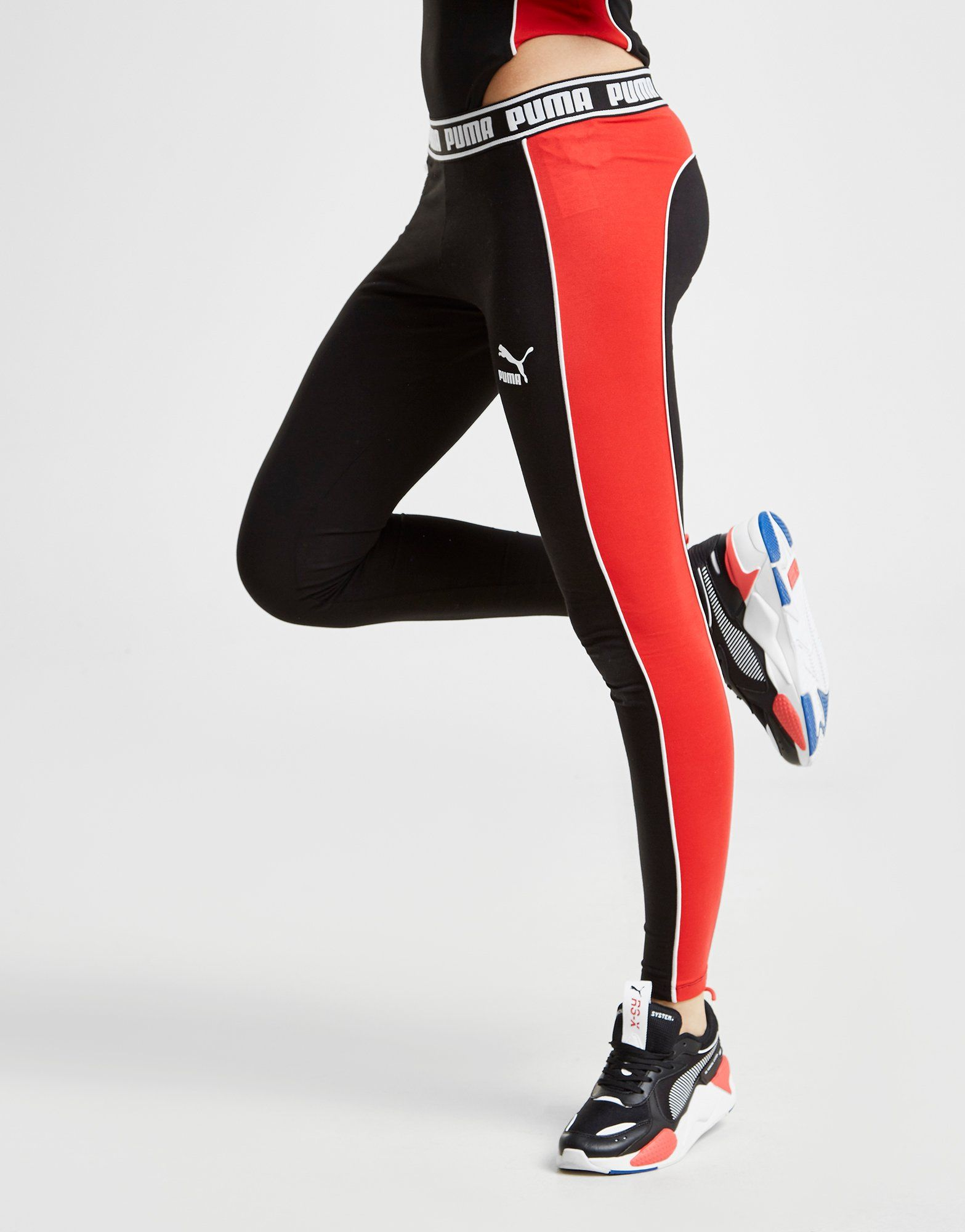 PUMA Panel Tape Leggings