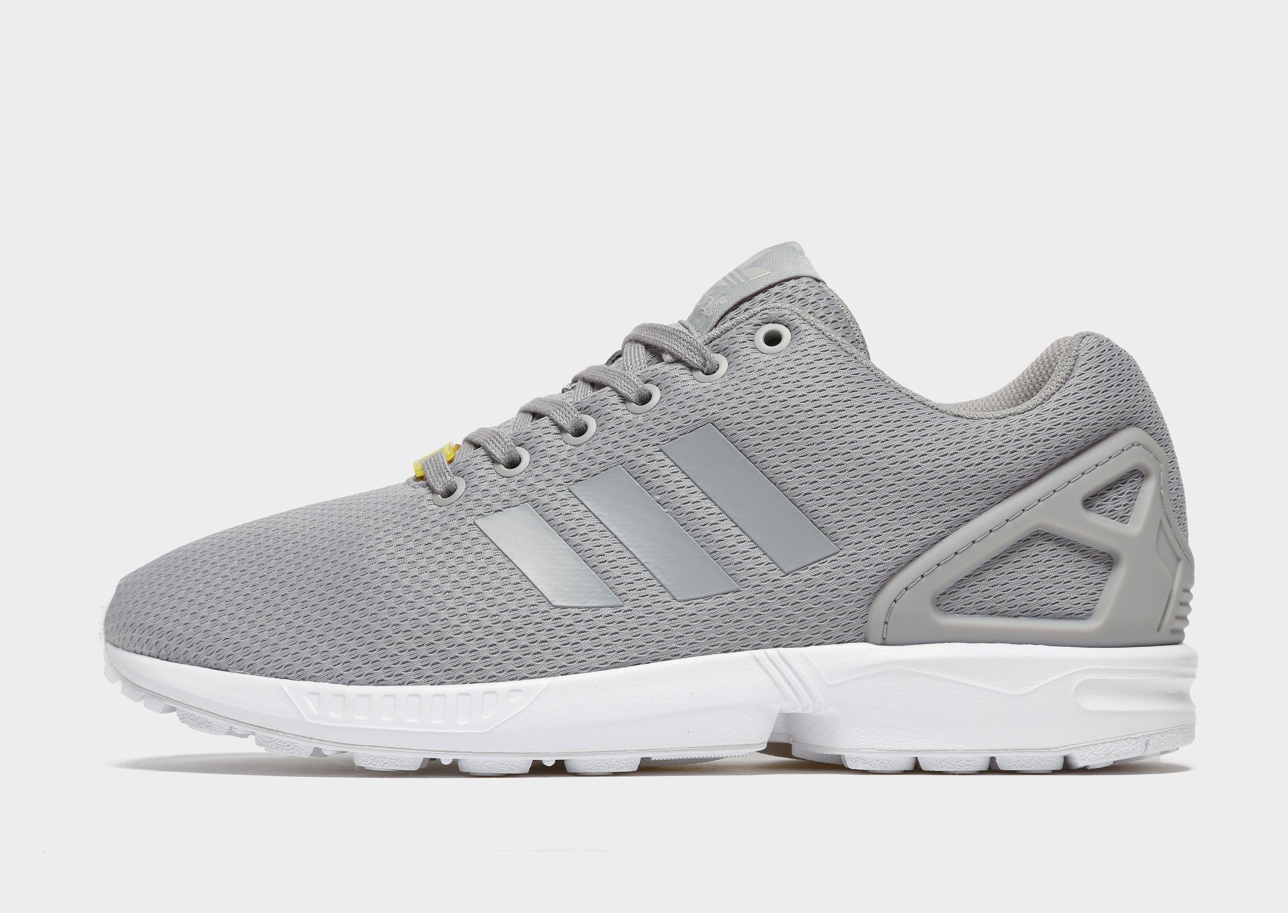 adidas zx flux rose grise