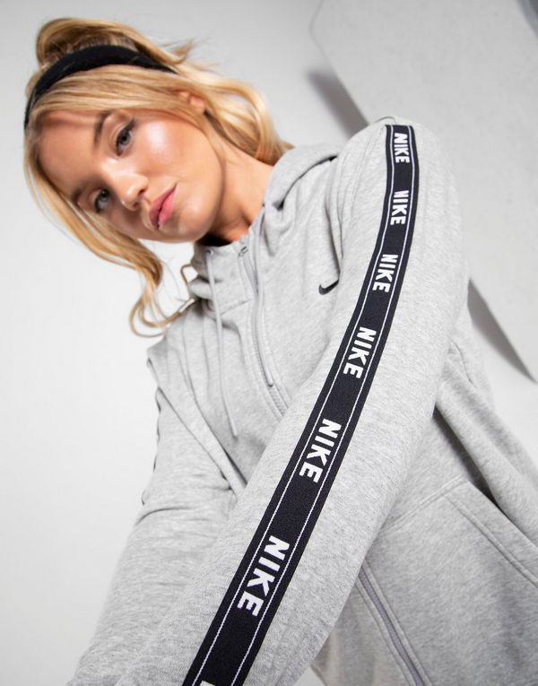 e985a9230189c Nike Tape Full Zip Felpa con cappuccio Donna