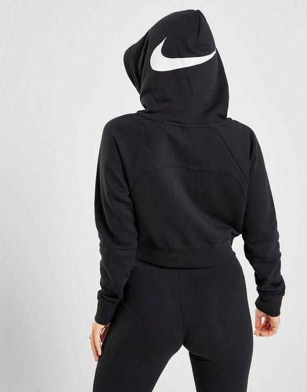 17681f442e Nike Swoosh Overhead Crop Sweat à Capuche Femme | JD Sports