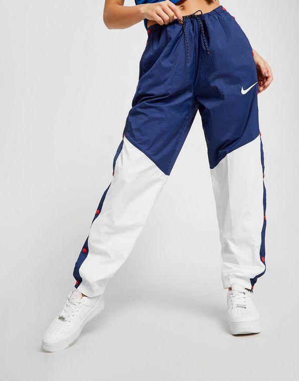 Nike Nylon Colour Block Popper Housut Naiset  4ef52eb436