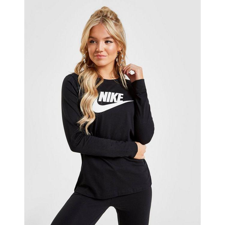 Nike Essential Futura Long Sleeve T-Shirt Dames