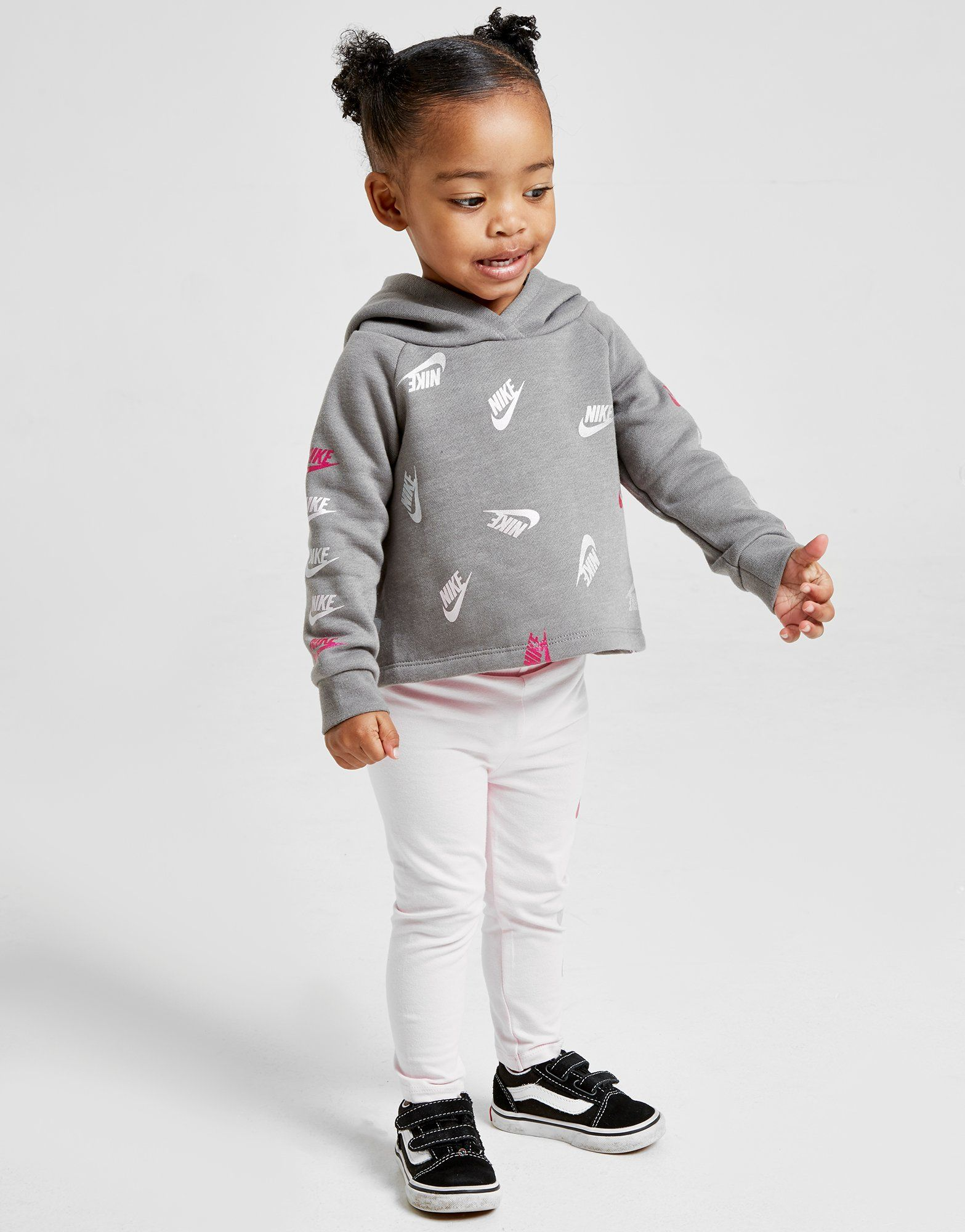 Nike Girls' All Over Print Futura Tracksuit Infant