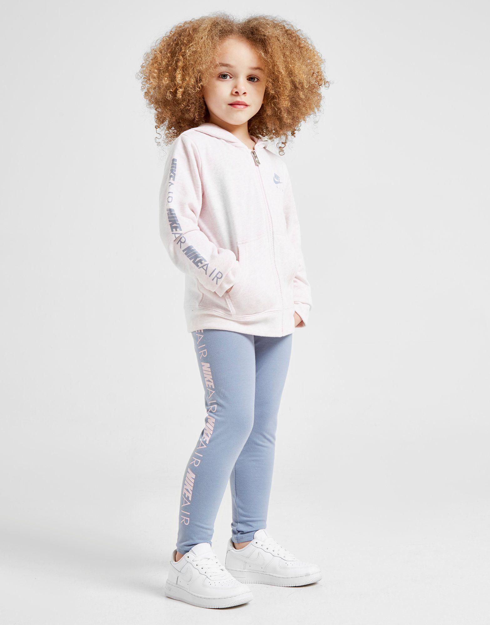 Nike Girls' Air Full Zip Hoodie/Leggings Set Children