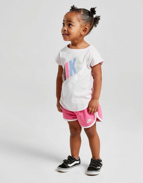 abe496c3 Nike Girls' Futura T-Shirt/Shorts Set Infant | JD Sports Ireland