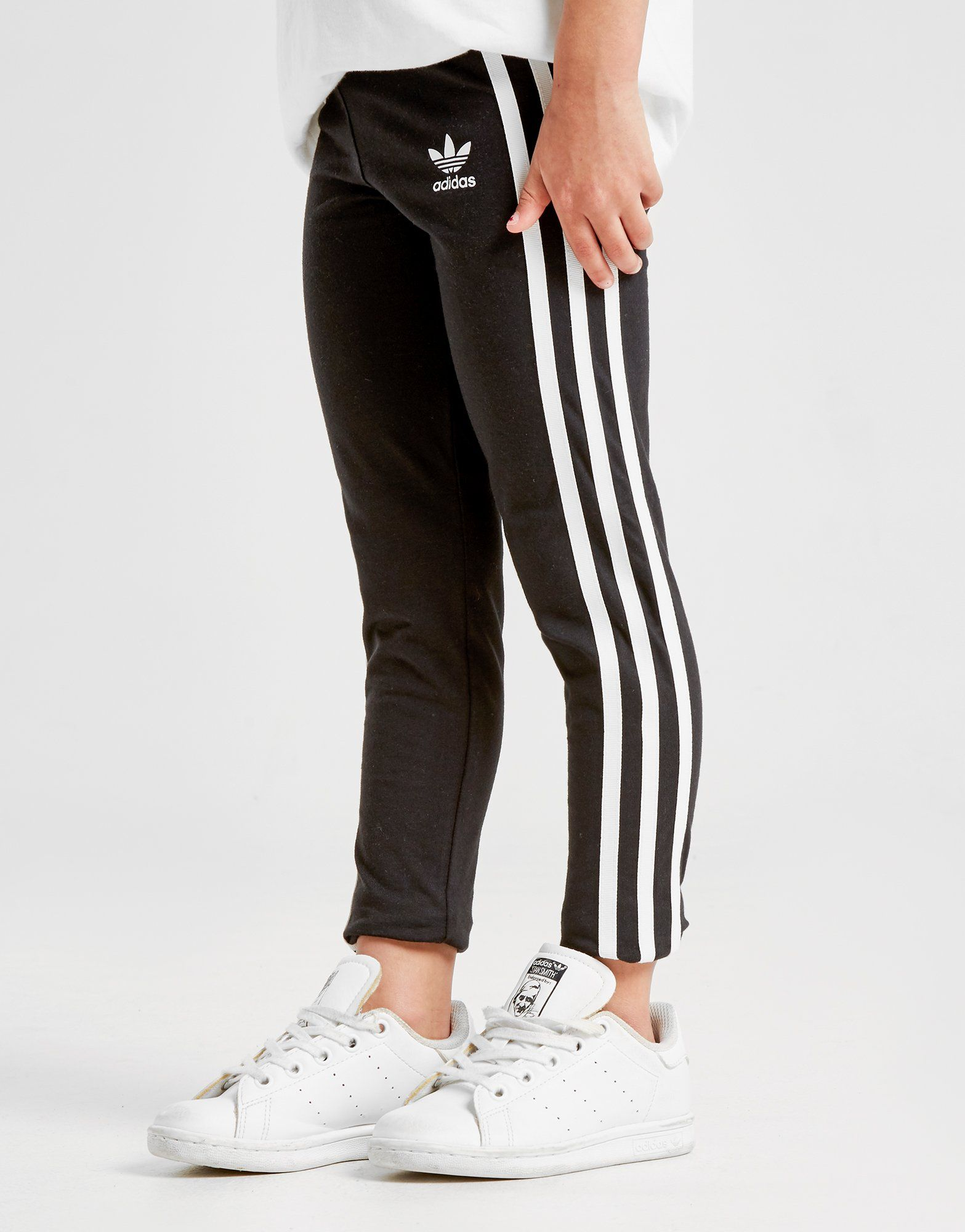 adidas Originals Girls' 3-Stripes Leggings Kinderen