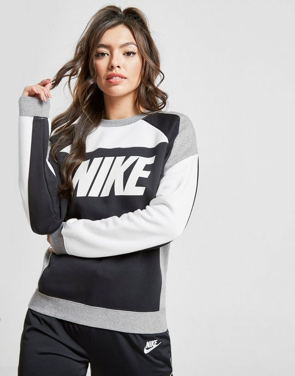 new arrivals 53479 37ff6 Nike Sportswear Colour Block Crew Sweatshirt   JD Sports Ireland