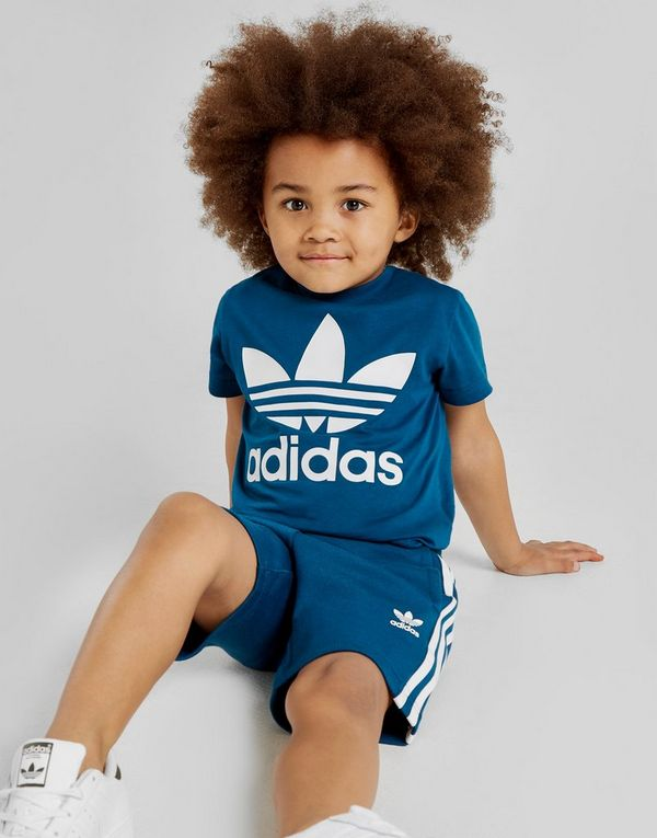 0cac37a53311 adidas Originals Trefoil T-Shirt Shorts Set Children