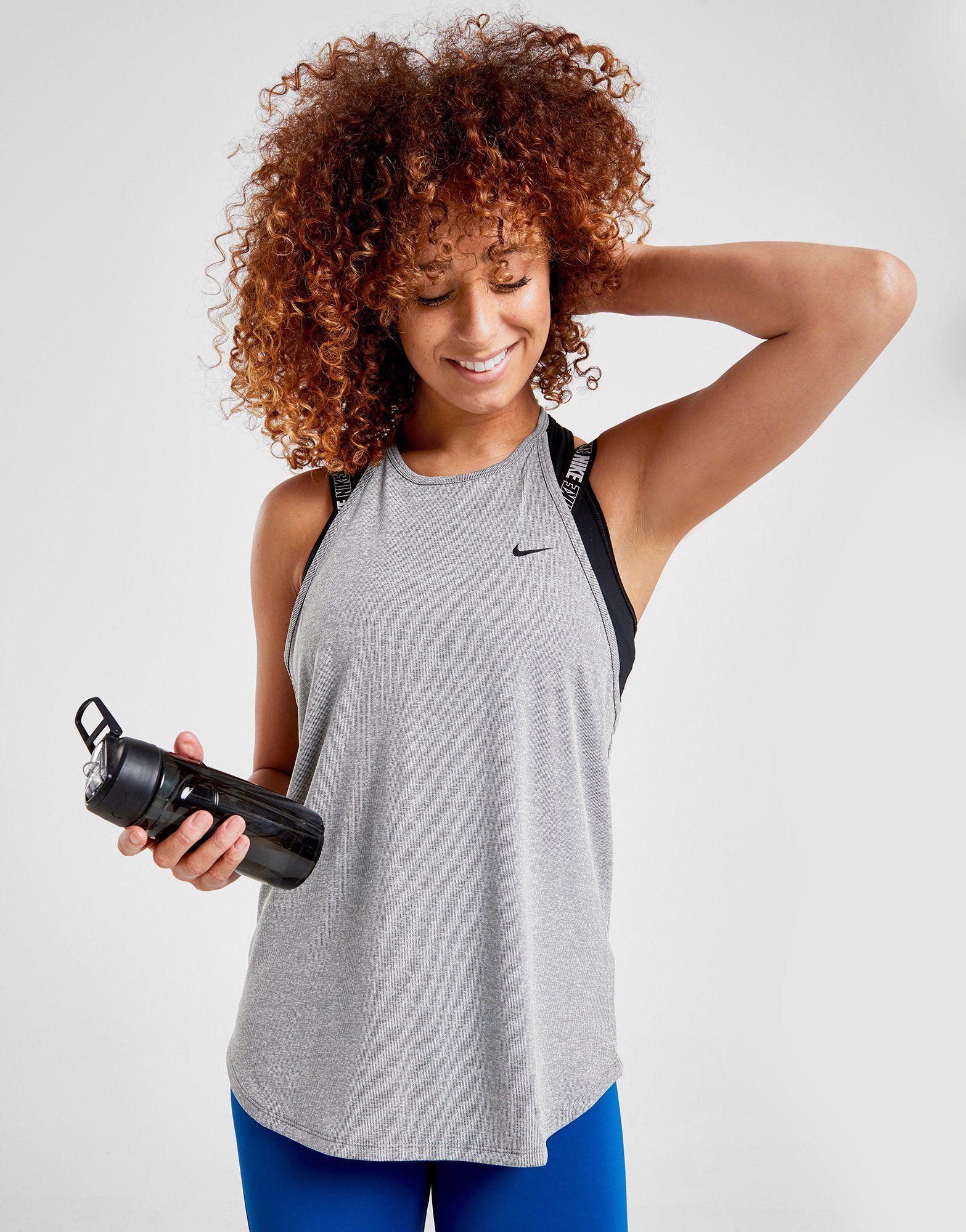 Nike Training Elastika Stripe Tank Top