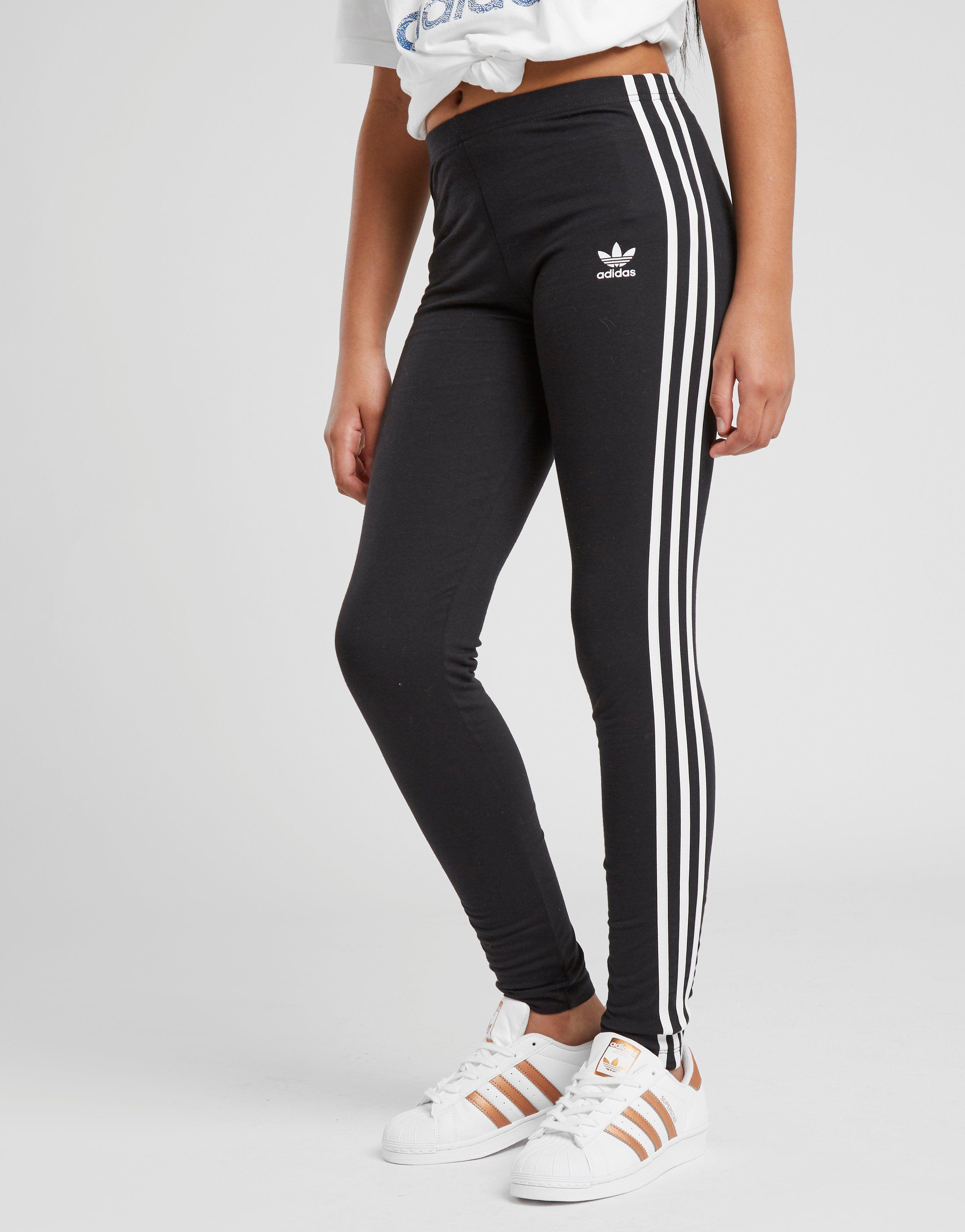 adidas Originals Girls  Trefoil 3-Stripes Leggings Junior  e6b872b07bc6