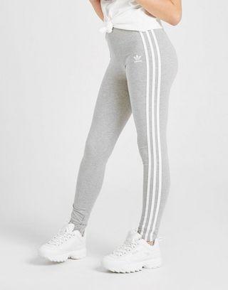 adidas Originals Girls' 3 Stripes Leggings Kinder | JD Sports