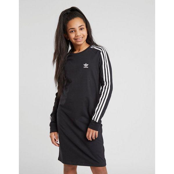 Adidas Junior Manches À Robe Stripes Originals Girls' 3 Longues TFrTpw