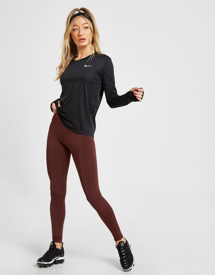 Nike Running Miler Long Sleeve Top Dames