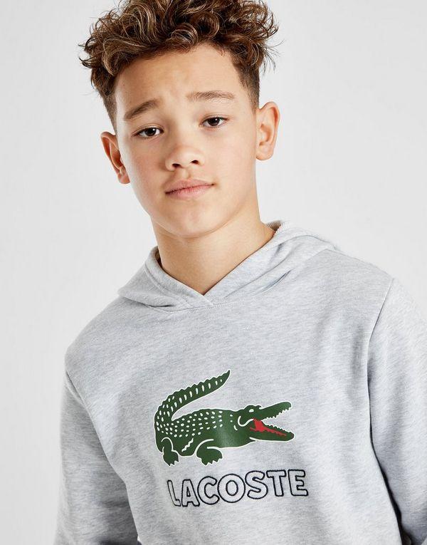 Lacoste Vintage Croc Overhead Hoodie Junior