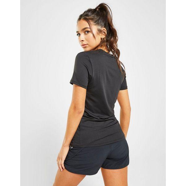 Ellesse Reflective Logo Short Sleeve T-Shirt Dames