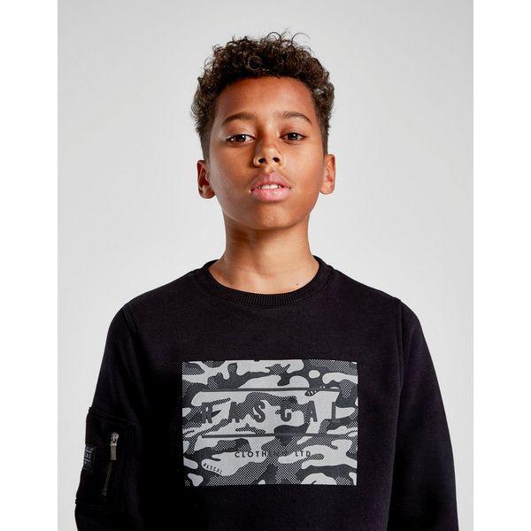 Rascal Reflective Crew Sweatshirt Junior