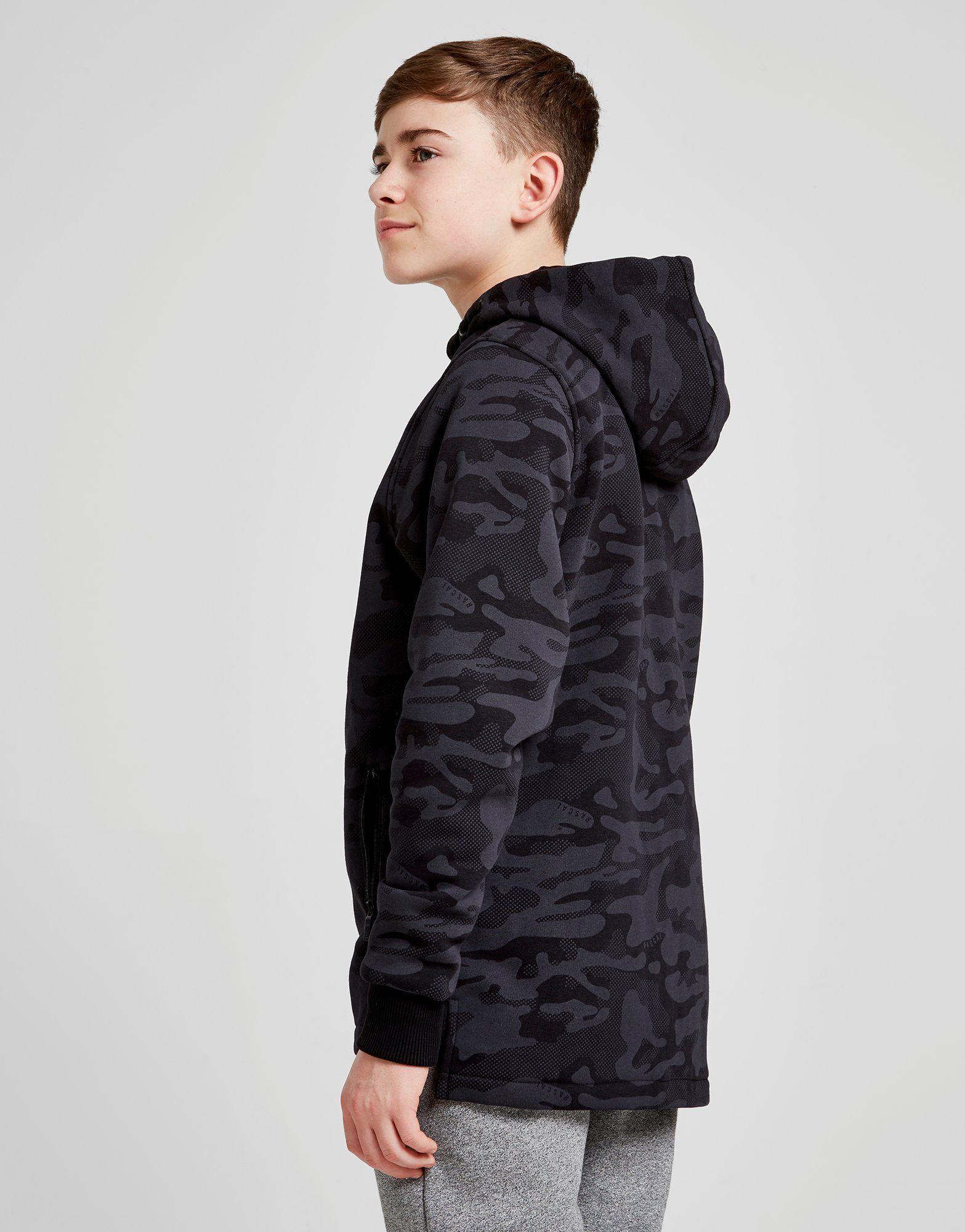 Rascal Veste zippée à capuche Eclipse All Over Print Camo Junior