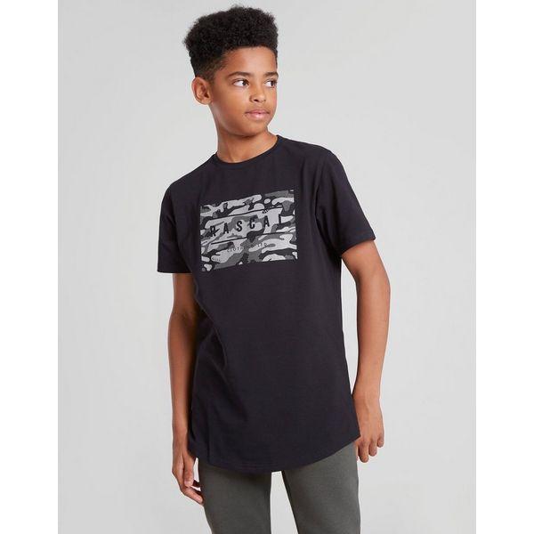 Rascal Camo Box Logo T-Shirt Junior