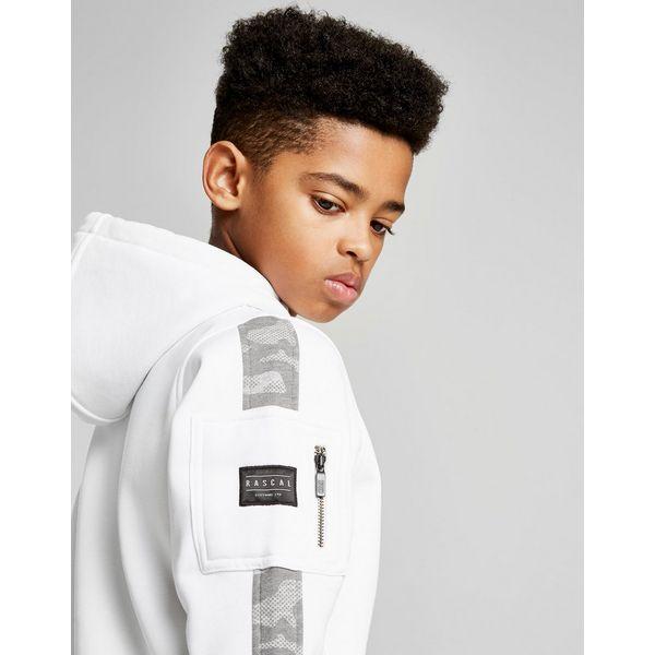 Rascal Eclipse Camo Sleeve Hoodie Junior