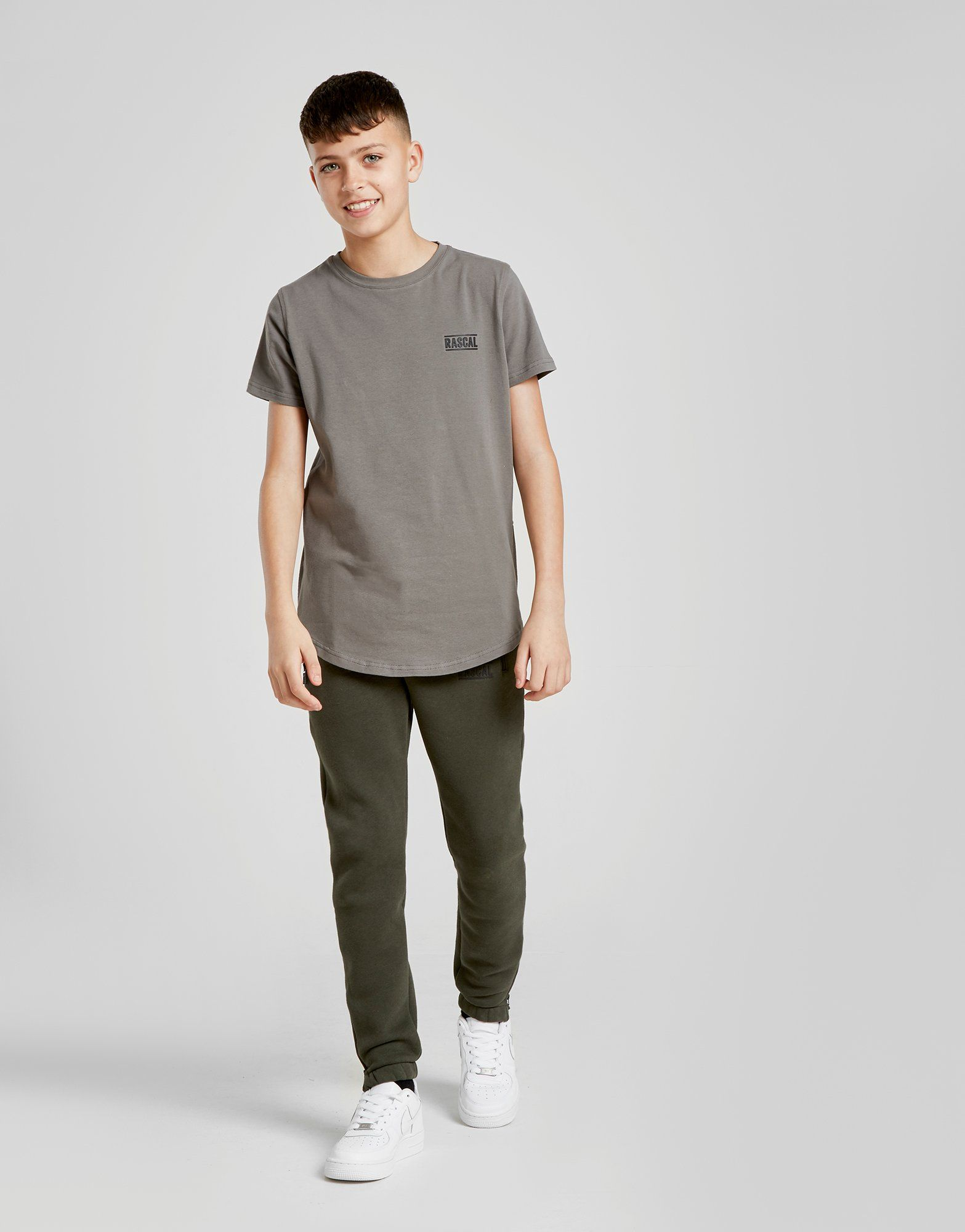 Rascal Side Zip T-Shirt Junior