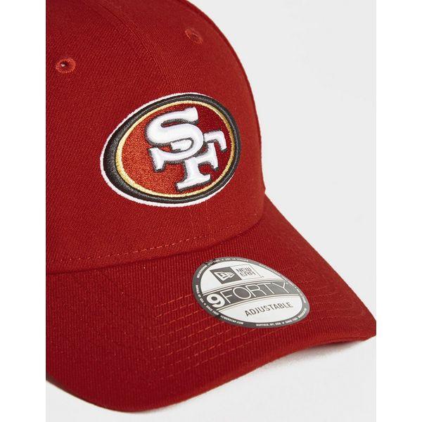 d3127cb7a New Era NFL San Francisco 49ers 9FORTY Cap