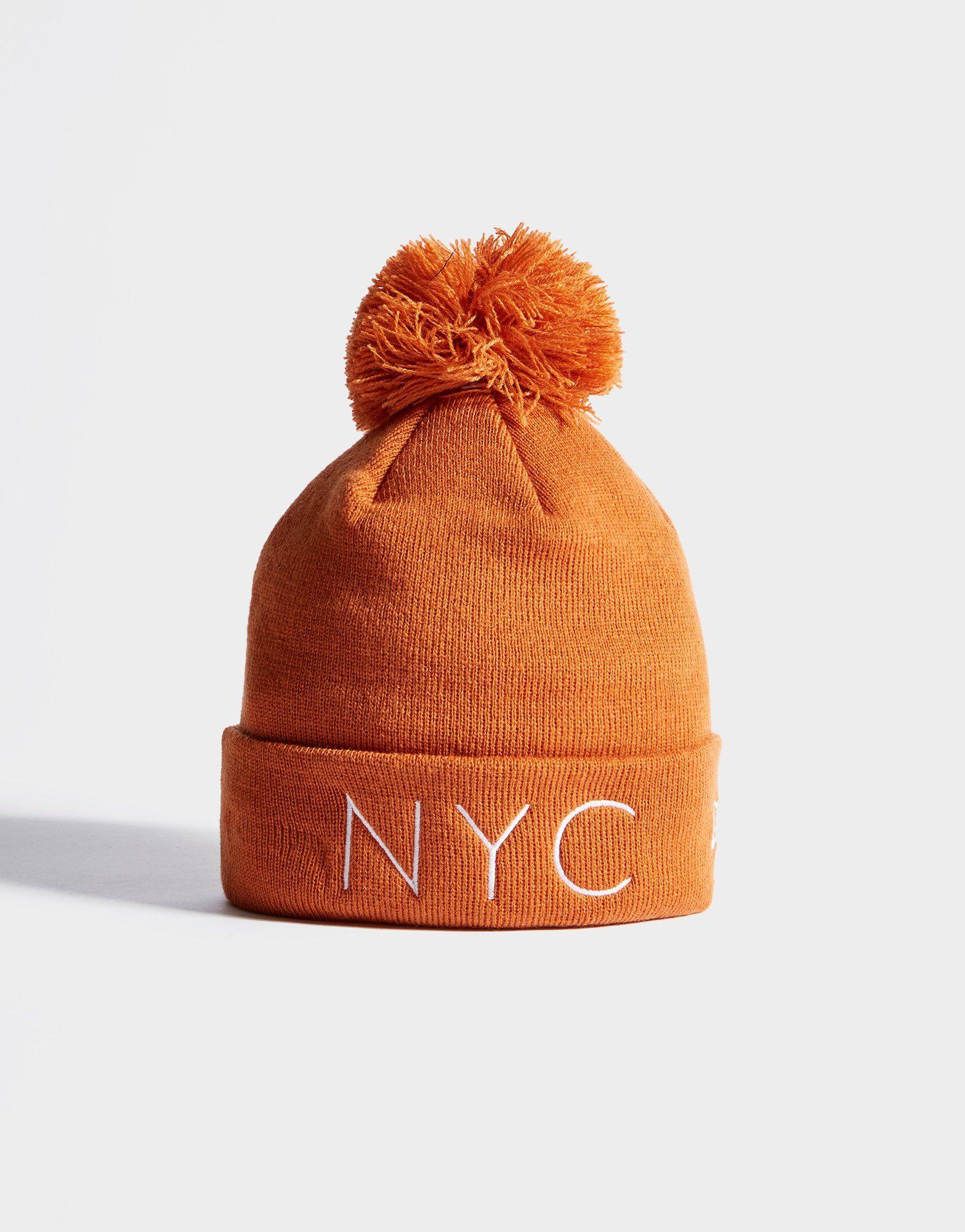 New Era Bonne à pompon New York City