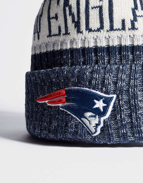 sports shoes 61878 74aba ... good new era nfl sideline new england patriots beanie 4cdd8 434fe