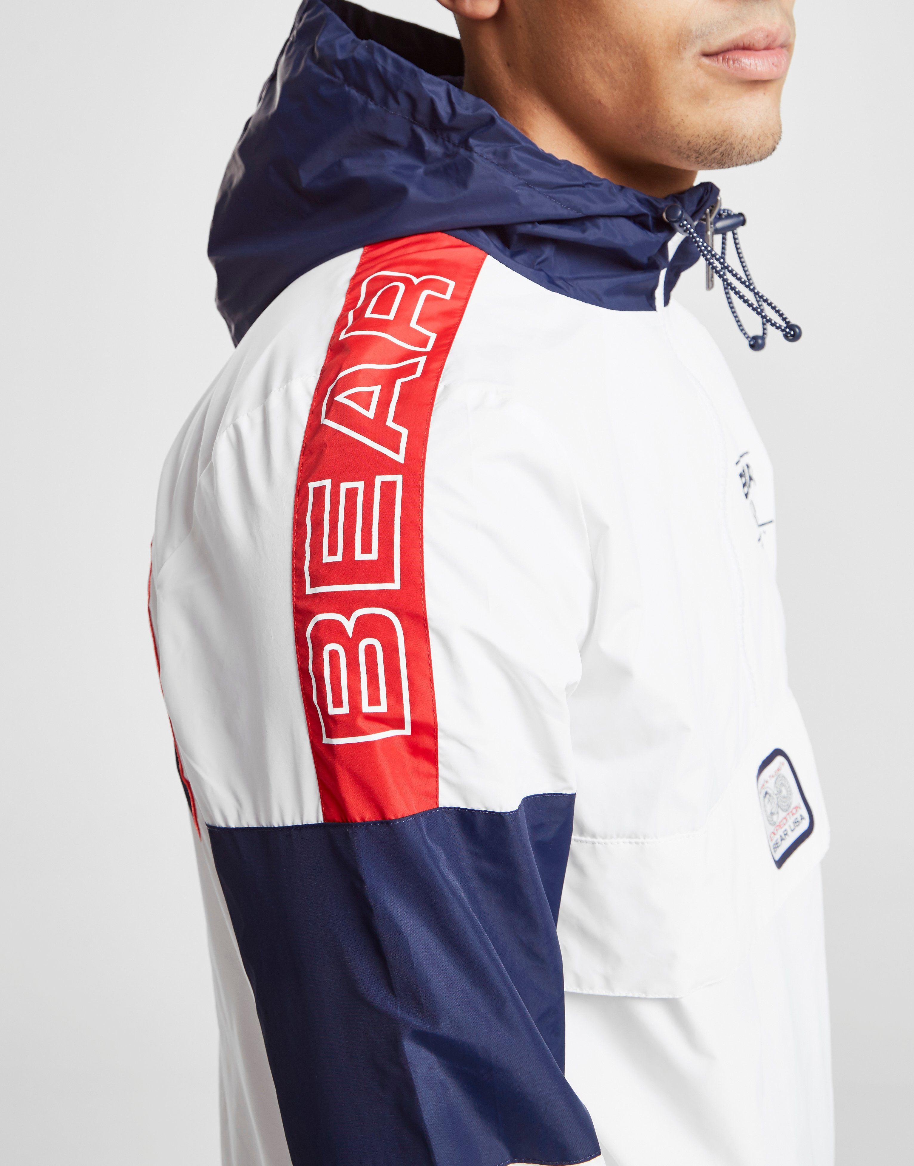 Bear USA chaqueta cortavientos con capucha Sepilok