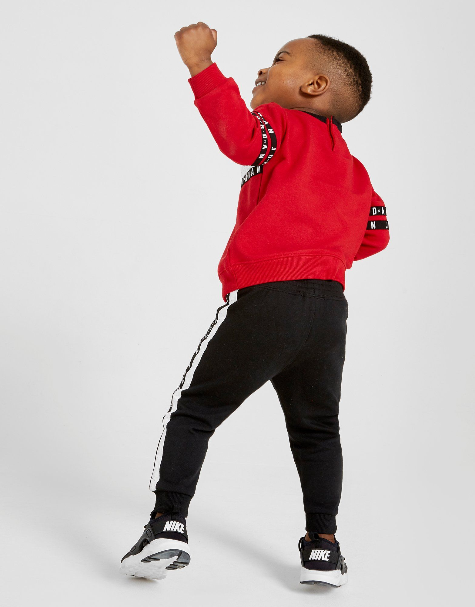 Jordan Air Tape Crew Tracksuit Infant