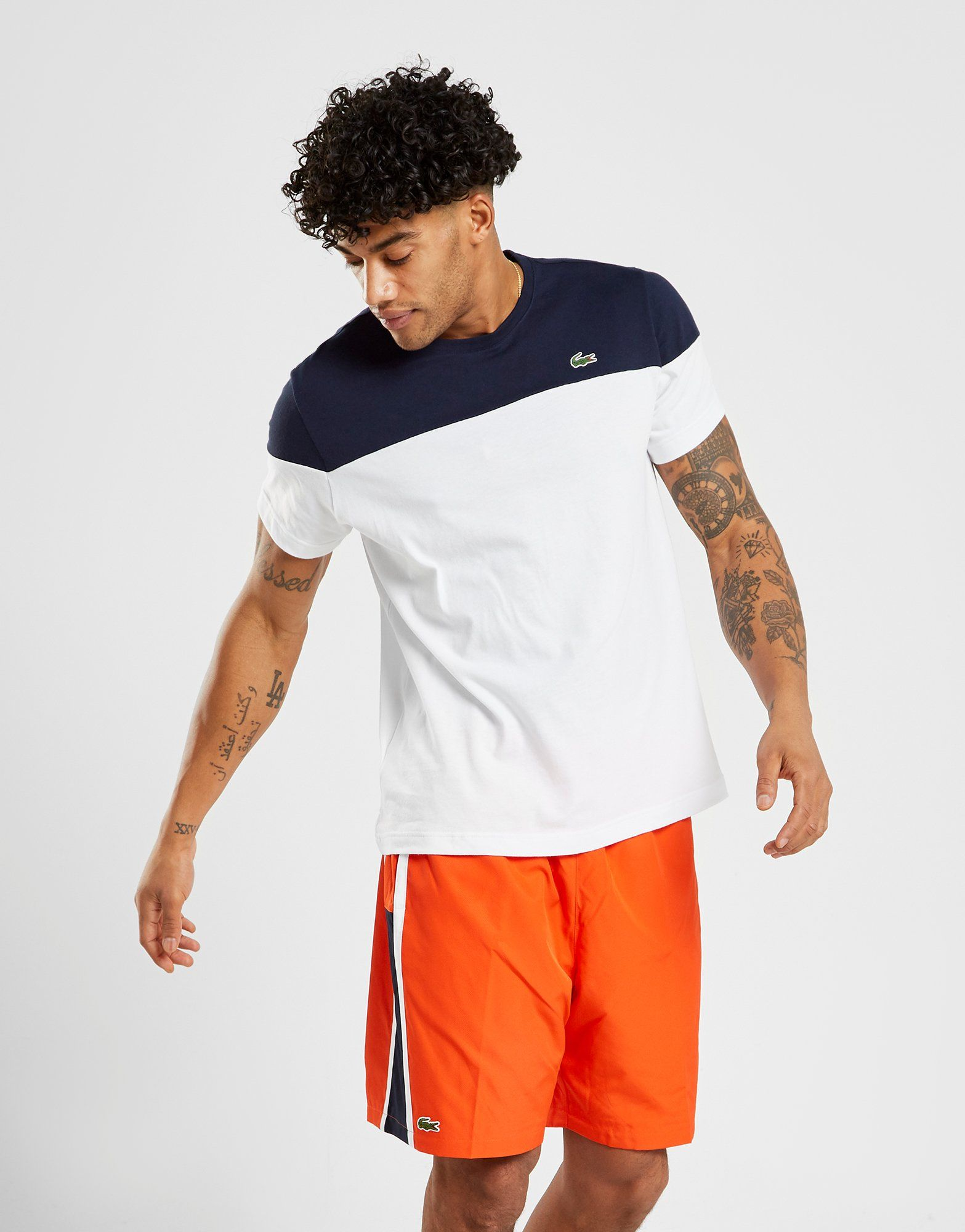 Lacoste Upper Panel T-Shirt