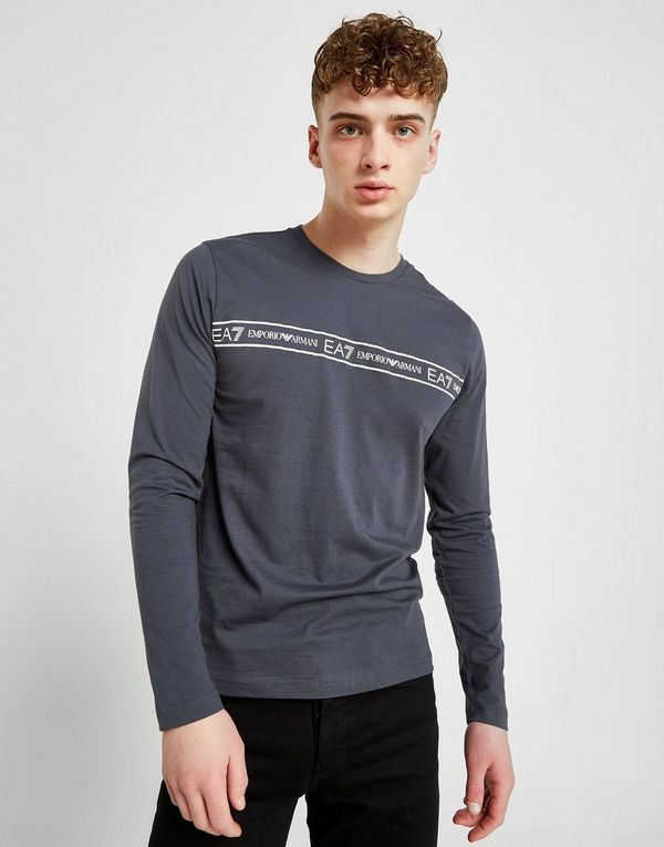 51272af3 Emporio Armani EA7 Long Sleeve Central Tape T-Shirt | JD Sports Ireland