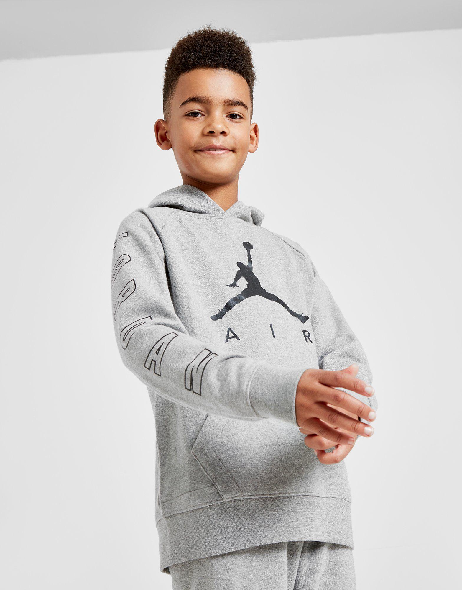 Jordan Air Fleece Hoodie Junior