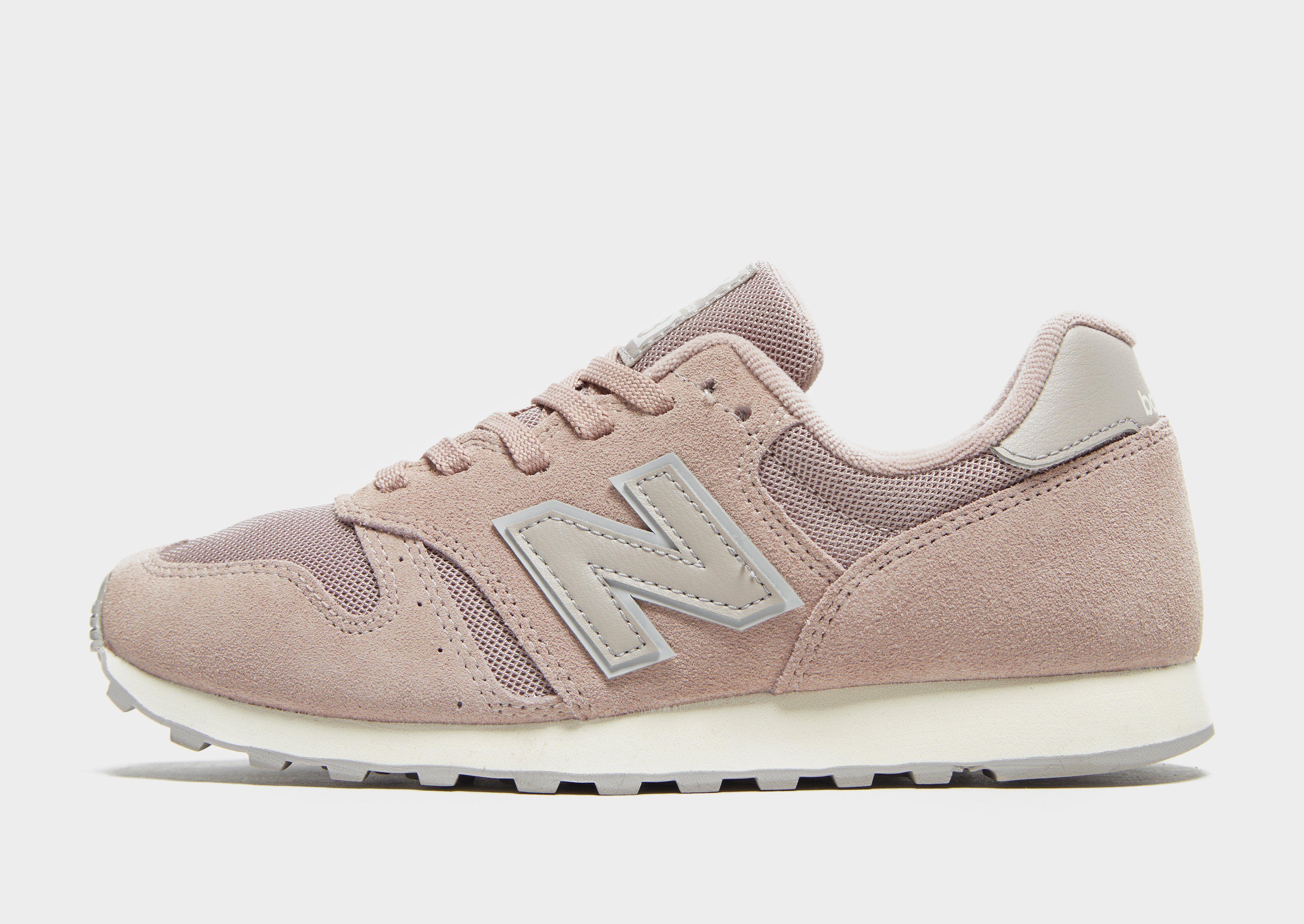 new balance 373 dames grijs roze